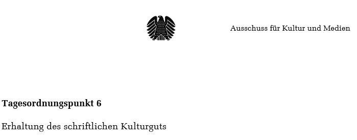 sitzungen im deutschen bundestag